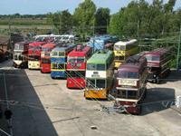 BTS Fleet Line-up Sandtoft 30 May 2011