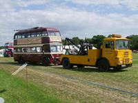 Reading 113 In Parade at Woodcote Rally 9 July 2011