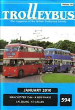 Trolleybus January 2011