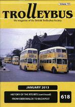 Trolleybus January 2013