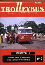 Trolleybus January 2015