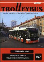 Trolleybus February 2012