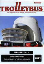 Trolleybus February 2015