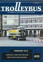 Trolleybus February 2016