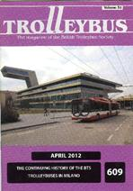 Trolleybus April 2012