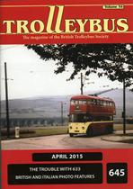 Trolleybus April 2015