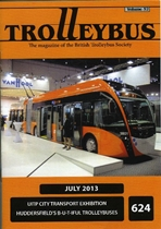 Trolleybus July 2013