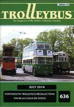 Trolleybus July 2014
