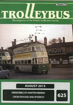 Trolleybus August 2013