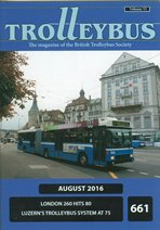 Trolleybus August 2016