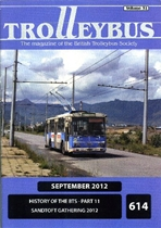Trolleybus September 2012