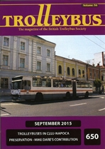 Trolleybus September 2015
