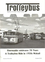 Trolleybus October 2010