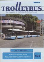 Trolleybus October 2011