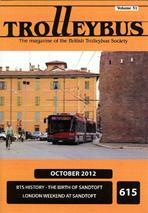 Trolleybus October 2012