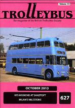 Trolleybus October 2013