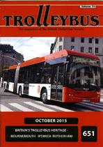 Trolleybus October 2015