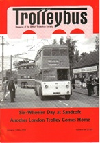 Trolleybus November 2010