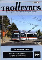 Trolleybus November 2011