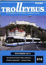 Trolleybus November 2012