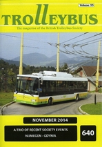 Trolleybus November 2014