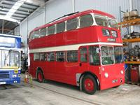 Manchester 1344 at Swindon, restoration completed
